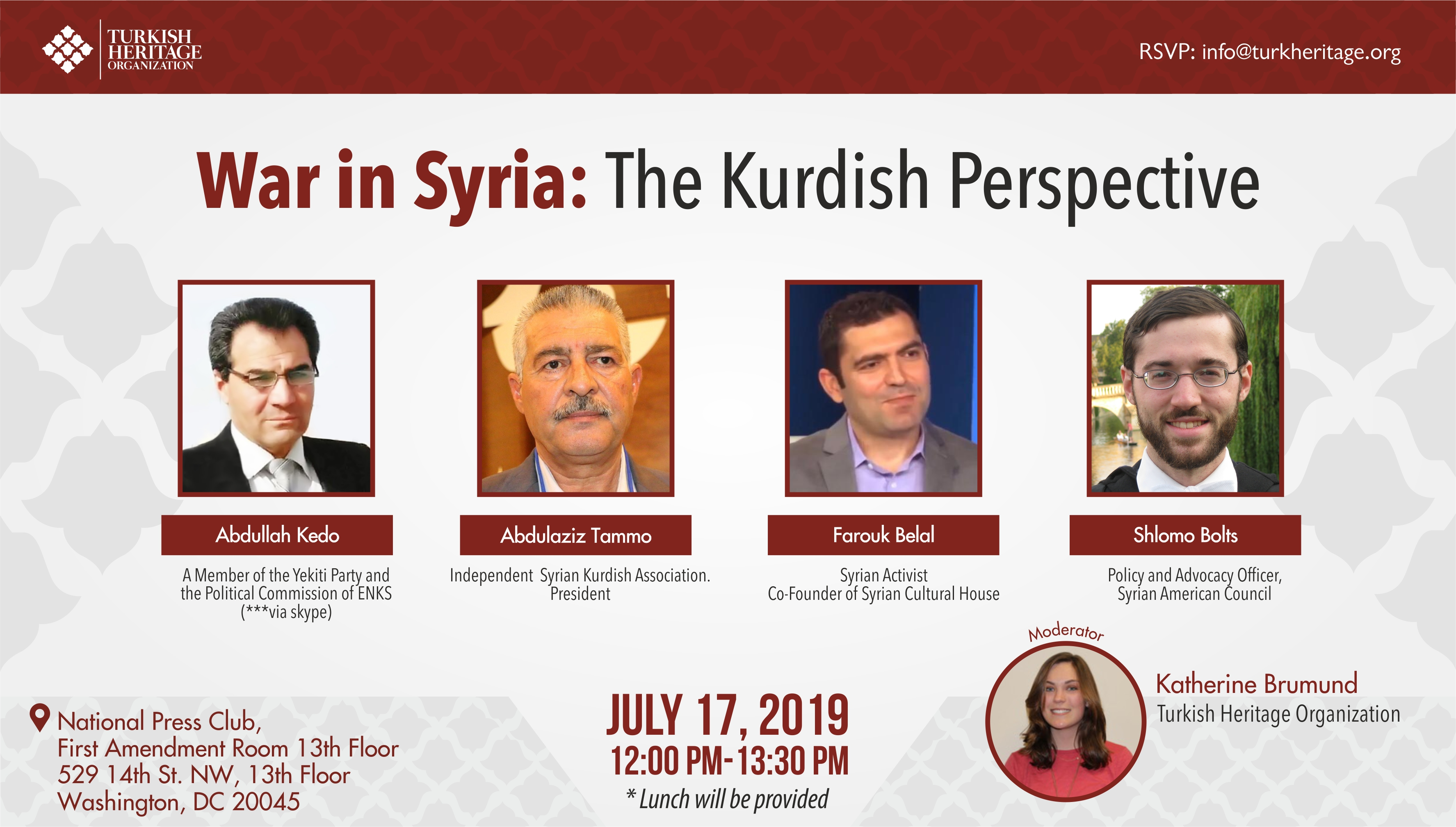 War in Syria: The Kurdish Perspective