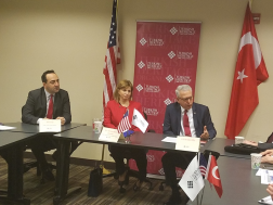 THO Hosts Roundtable with Honorary President of the Assembly of European Regions and the Turkish Ambassador to the U.S.