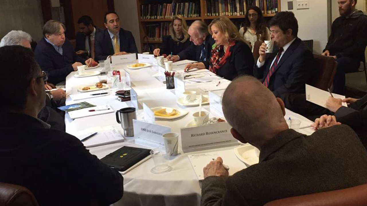 THO Organizes Roundtable Discussion Featuring Prof. Dr. Gulnur Aybet At Harvard University