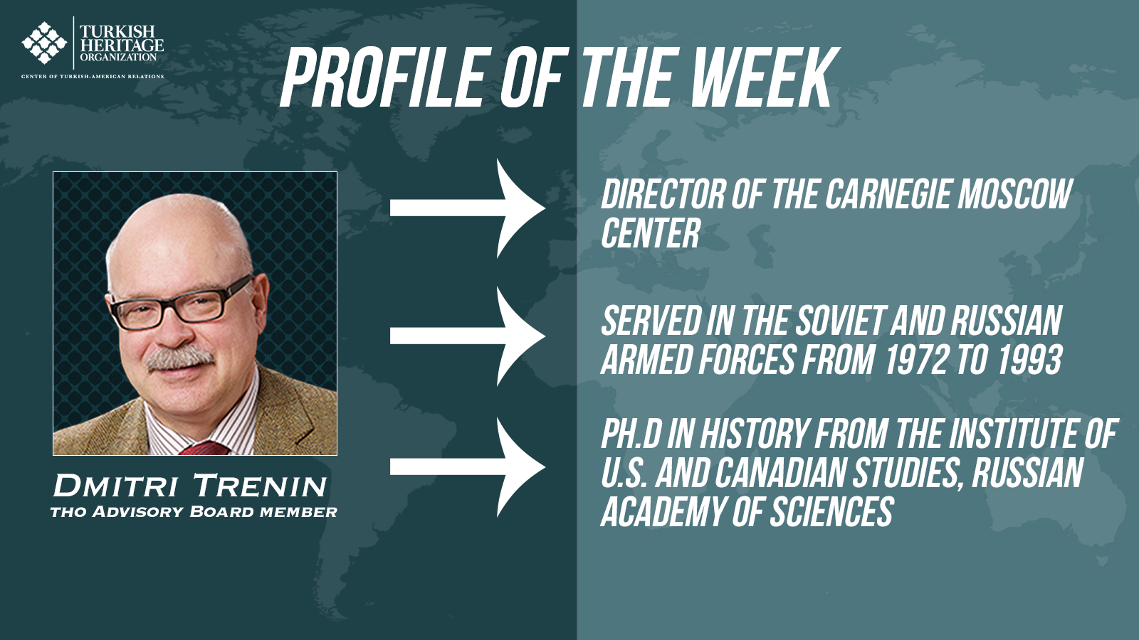 Dmitri Trenin, director of the Carnegie Moscow Center