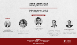 Middle East in 2020: A Challenge for World Peace?