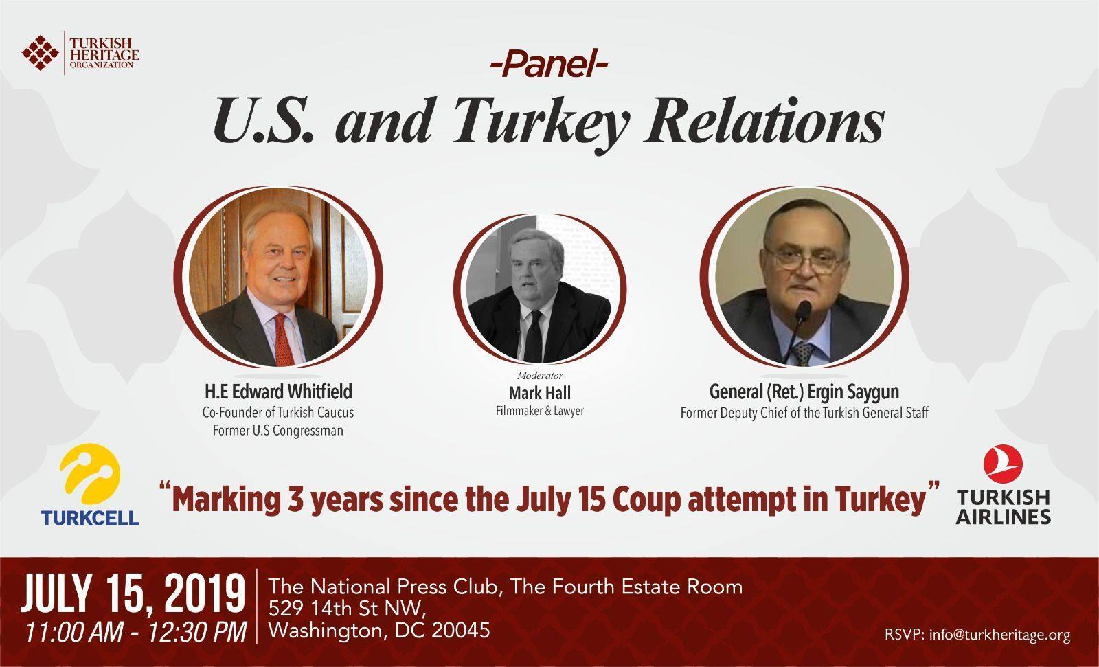 Marking 3 years since the July 15 Coup attempt in Turkey