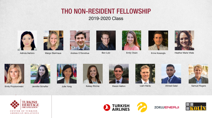 Turkish Heritage Organization is announcing our 2019-2020 Nonresident Fellows