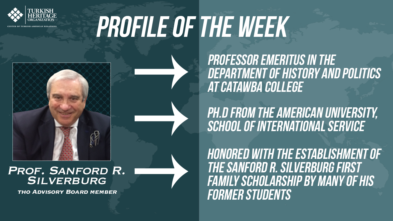 Sanford R. Silverburg is a professor emeritus from the Department of History and Politics at Catawba College, Salisbury, NC