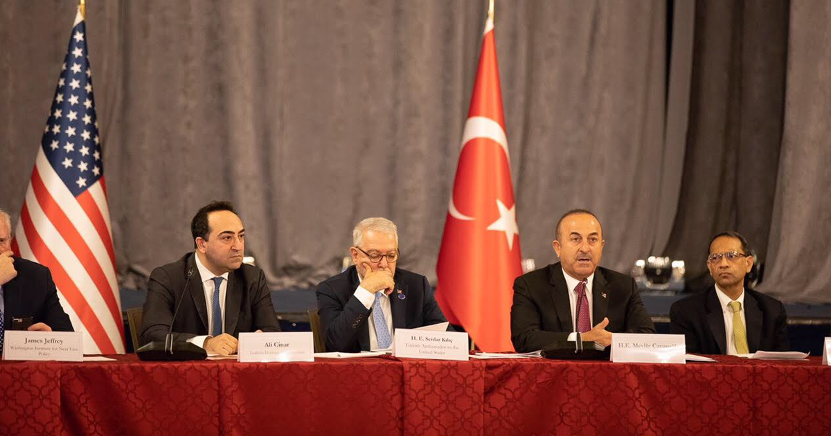 Tho Organizes Roundtable For Turkish Foreign Minister
