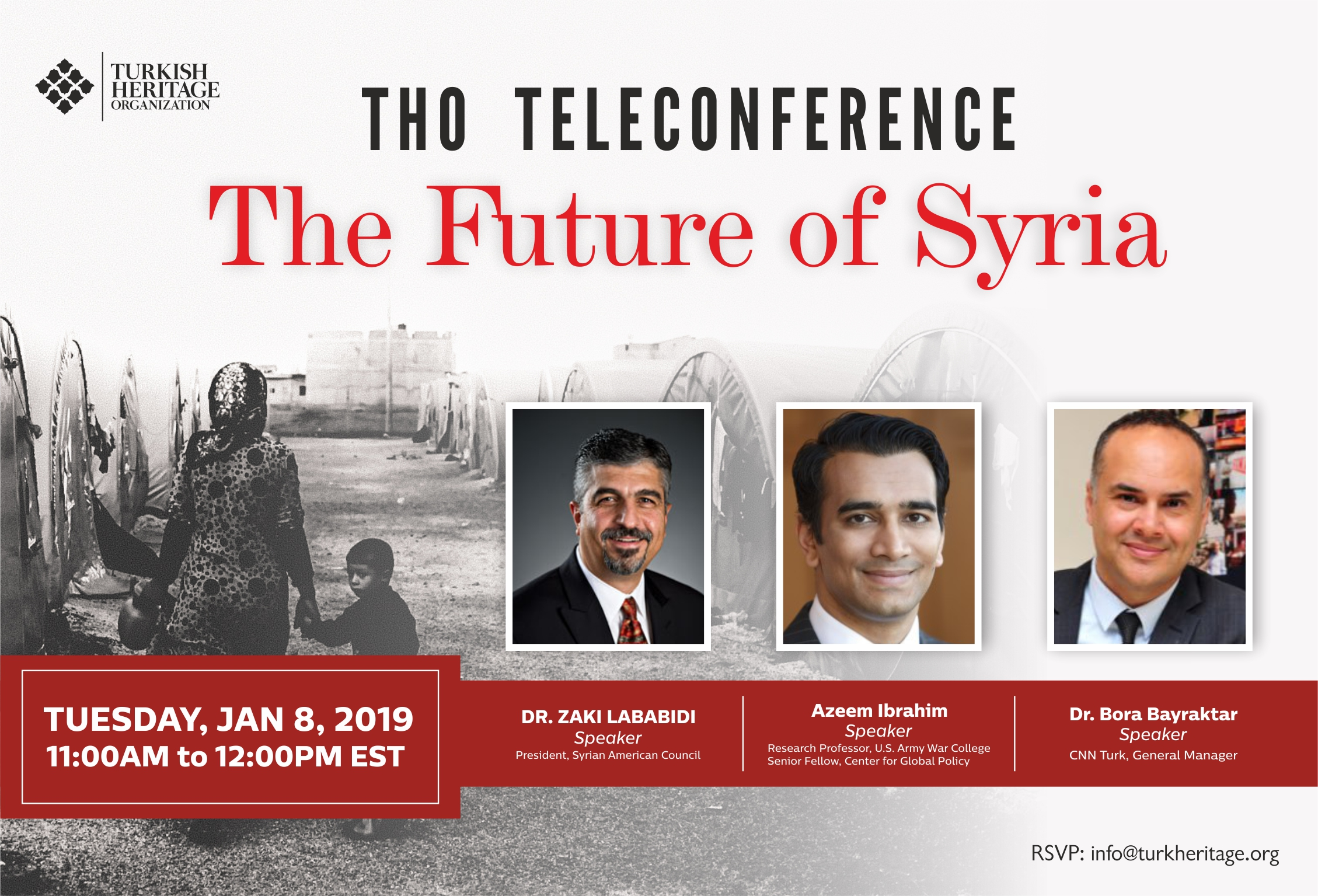 "Teleconference on ""The Future of Syria"""