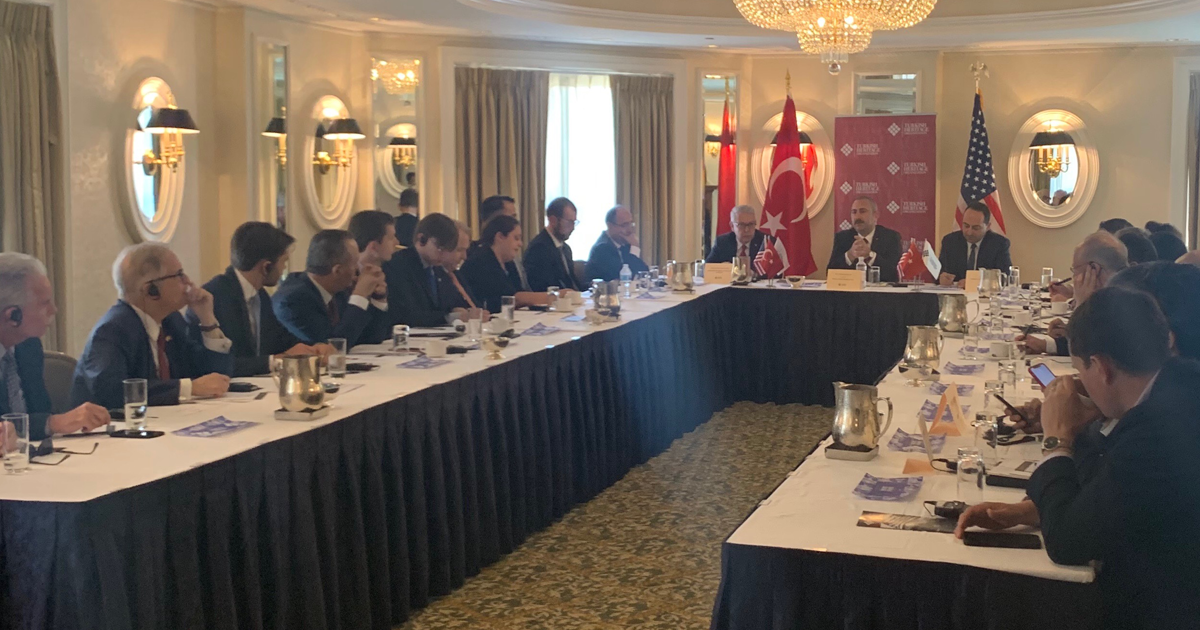 THO HOSTS PRIVATE ROUNDTABLE ON TURKEY'S JUDICIAL REFORM